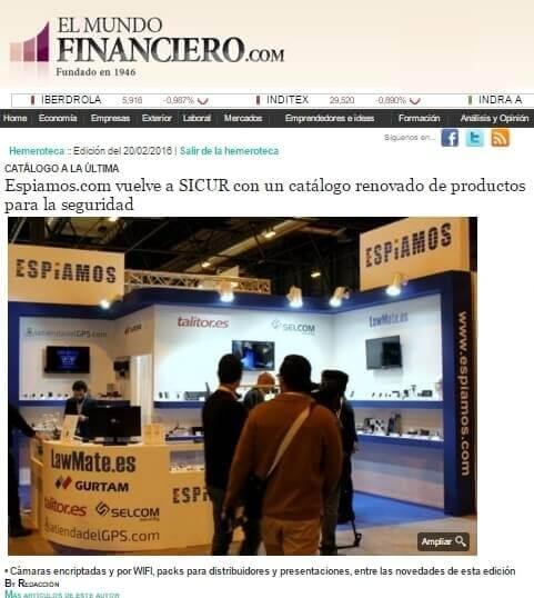 ESPIAMOS en el Mundo Financiero