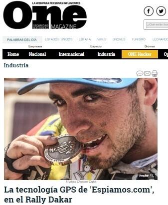 ESPIAMOS Dakar 2016 y 2017