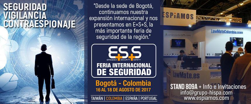 Feria Seguridad ESS Espiamos Colombia