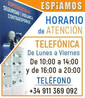Horario ESPIAMOS.COM
