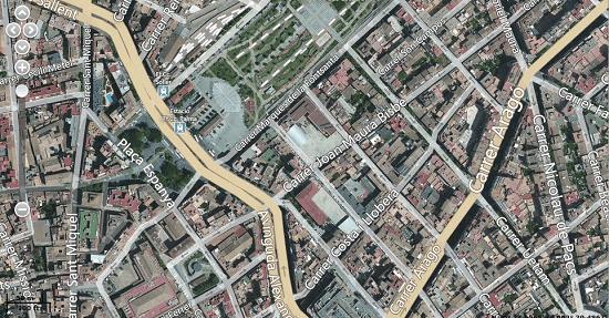 Mapa mixto localizador GPS