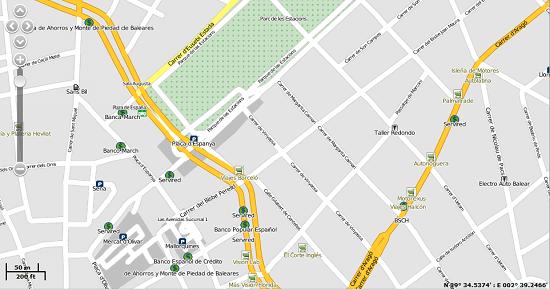 Mapa Street Localizador GPS